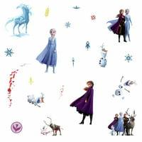 Frozen 2 II Peel & Stick 21 Wall Decals Girls Room Decor ELSA ANNA OLAF Stickers