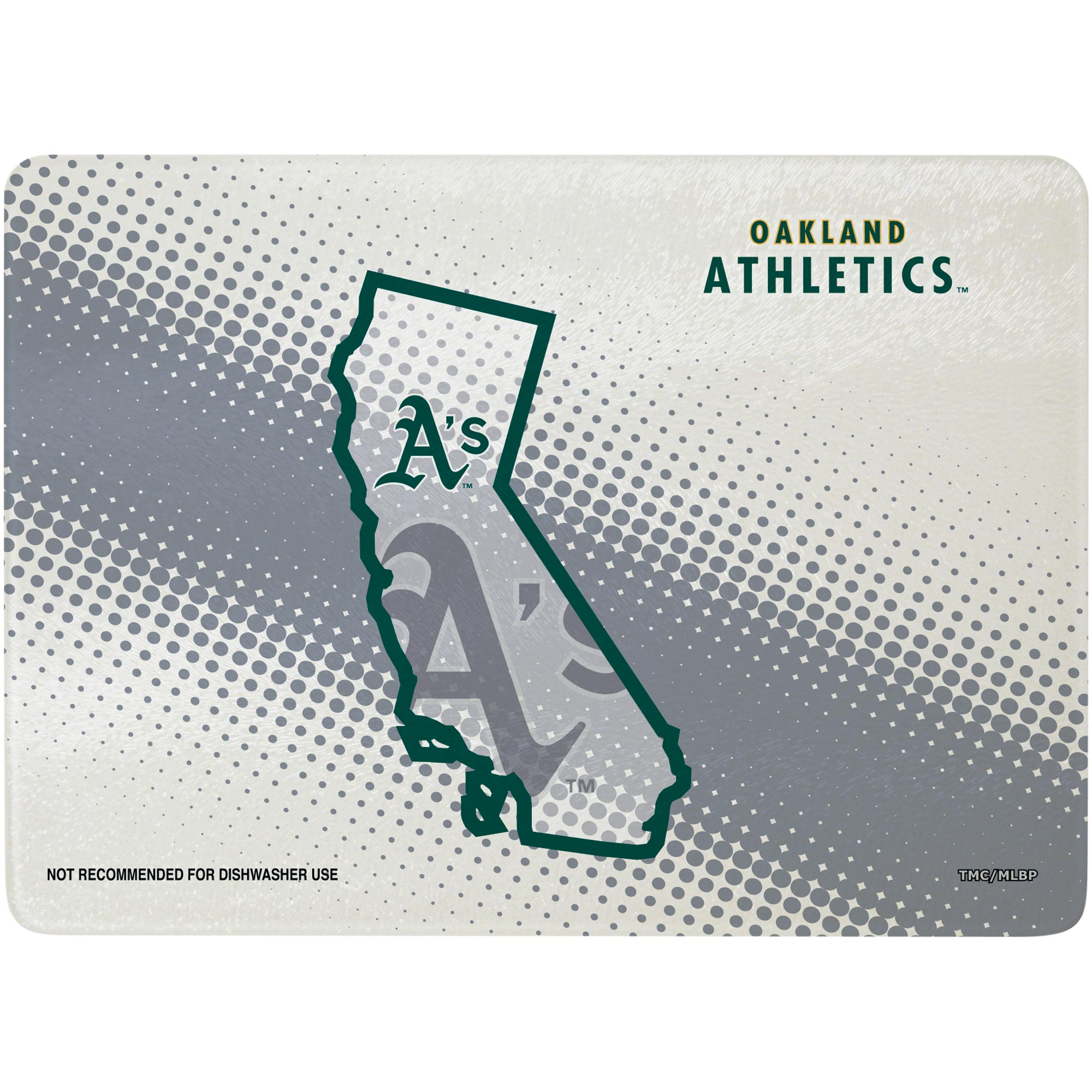 """Oakland Athletics 8"""" x 11.75"""" State of Mind Cutting board - No Size"""