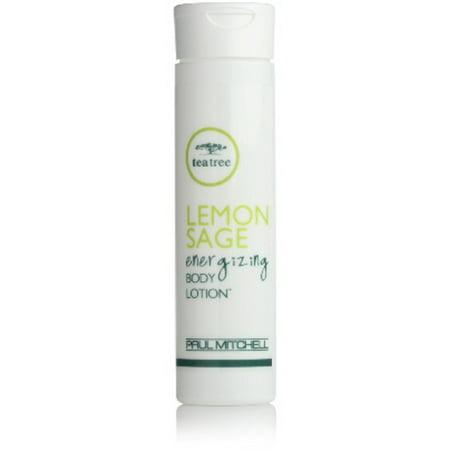 Paul Mitchell Tea Tree 12 Lemon Sage Energizing Body Lotion, Travel (Energizing Tea)