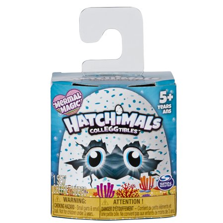 Hatchimals CollEGGtibles, Mermal Magic 1 Pack with a Season 5 Hatchimal, for Kids Aged 5 and Up (Styles May Vary)