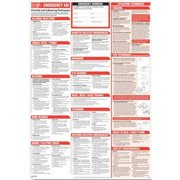 COMPLYRIGHT WR0326 Poster,25-1/4 in. H x 35-1/4 in. W