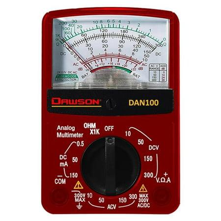 Dawson DAN100 Analog Multimeter