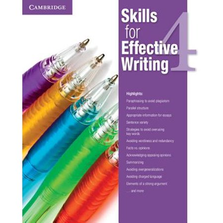 Skills for Effective Writing Level 4 Student