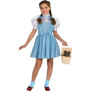 Wizard Of Oz Dorothy Costume Dress Girls Kids Child Youth Outfit