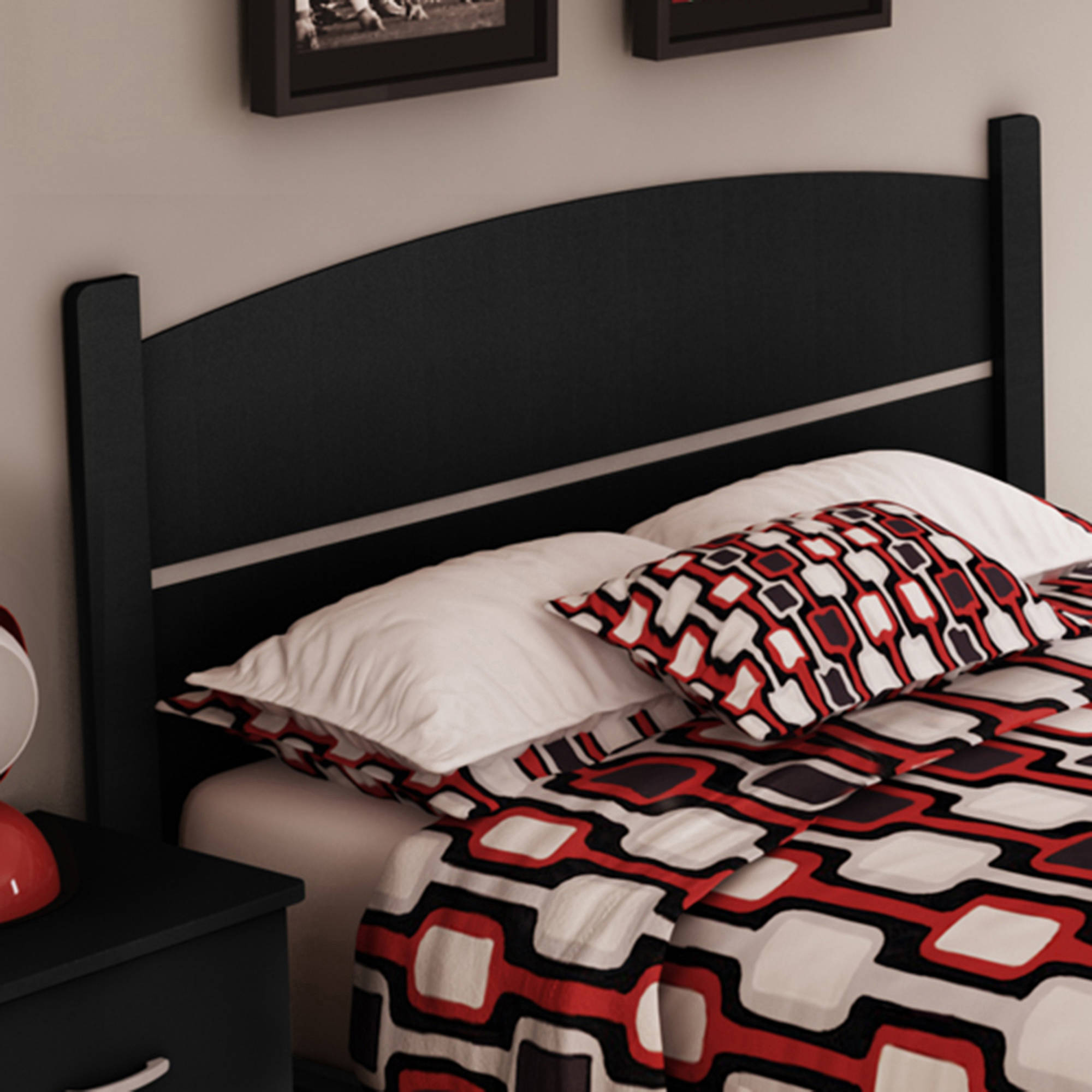 Black and white bedding walmart - South Shore Smart Basics 54 Full Headboard Multiple Finishes Walmart Com
