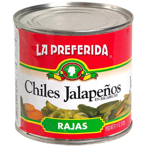 La Preferida Marinated Sliced Jalapeno Peppers, 11 oz (Pack of 12)