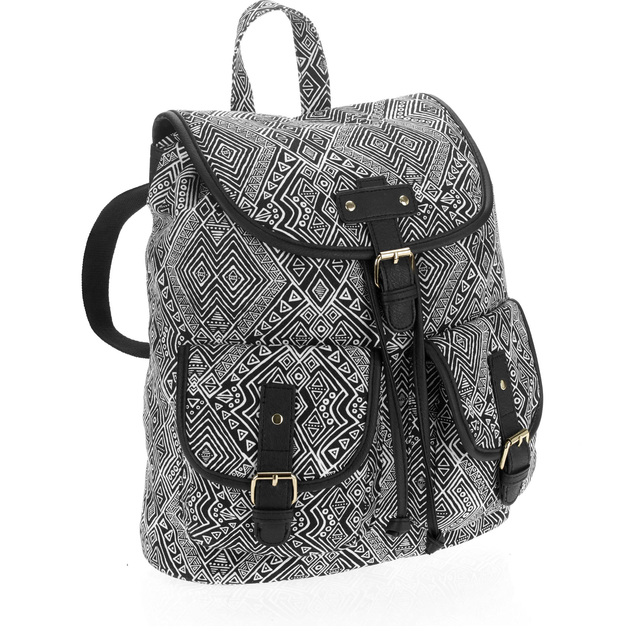 No Boundaries Women's Double Pocket Backpack by Generic