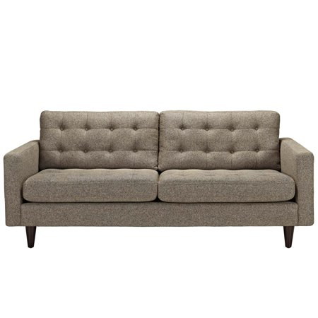 Empress Upholstered Sofa Oatmeal - Modway