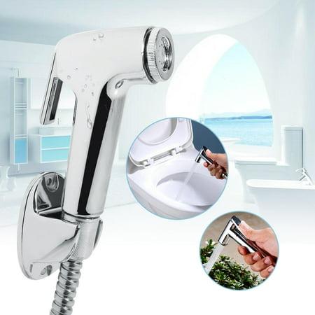 Ejoyous Multi-functional ABS Bathroom Handheld Toilet Bidet Shower Sprayer Hose Holder Wall Bracket Set, Hand Head Bidet, Spray Bidet - image 2 de 8