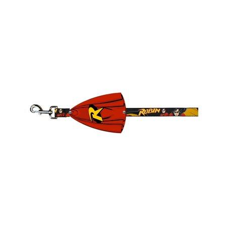 Batman DC Comics Superhero Robin In Action Dog Leash - Batman And Robin Capes