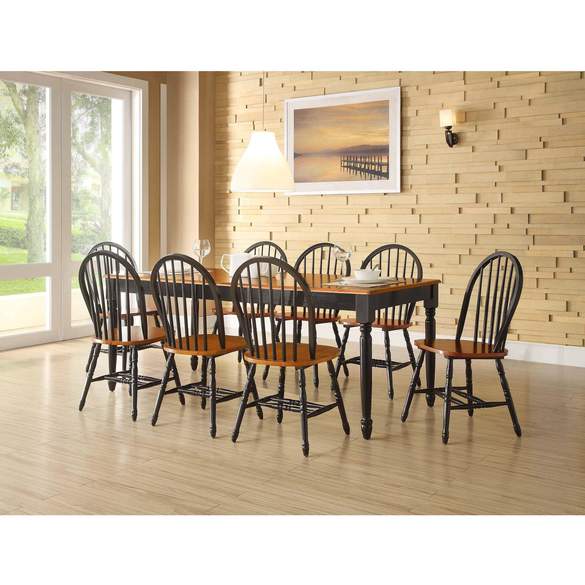 Better Homes And Gardens Autumn Lane 9 Piece Dining Set   Walmart.com