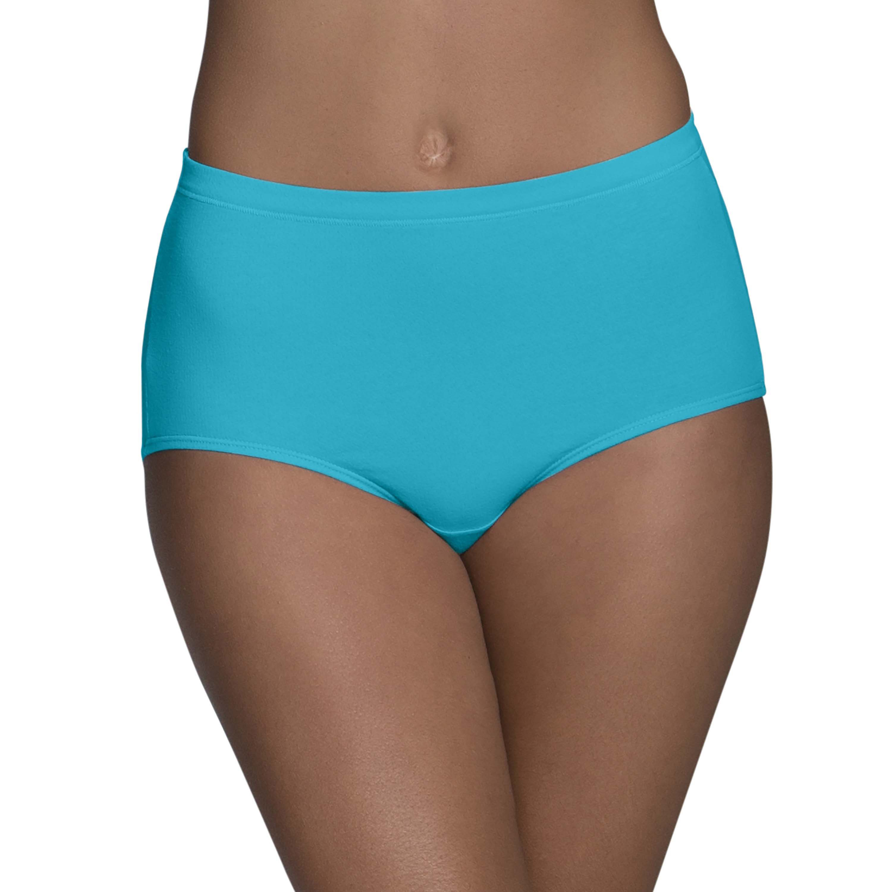 elegant and graceful outlet online new appearance Women's Breathable Cotton-Mesh Brief Panties - 4 pack