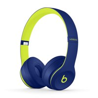 Beats by Dr Dre Solo3 On-Ear Wireless Bluetooth Headphones (Pop Indigo) - Refurbished