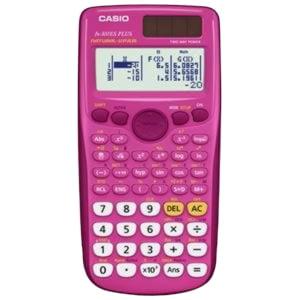 Casio FX-300ES PLUS Scientific Calculator, 10-Digit, Natural Textbook Display, LCD Pink by Casio