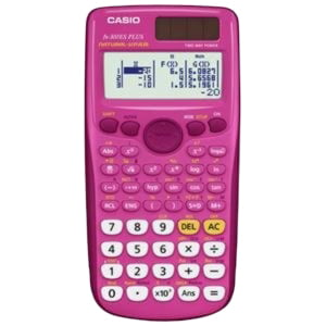Casio FX-300ESPLUS Scientific Calculator, Pink