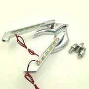 Best Glide Signal Mirrors - HTT Motorcycle Chrome Diamond Shape LED Turn Signal Review