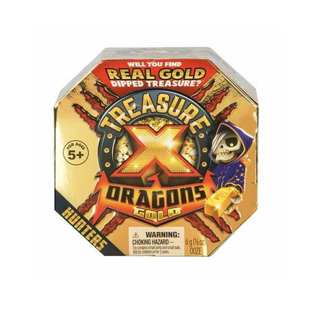 Treasure X Dragons Quest For Dragons Gold - Treasure (Gold Set Pics)