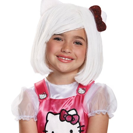 Morris Costumes Girls Hello Kitty Children Wig One Size, Style