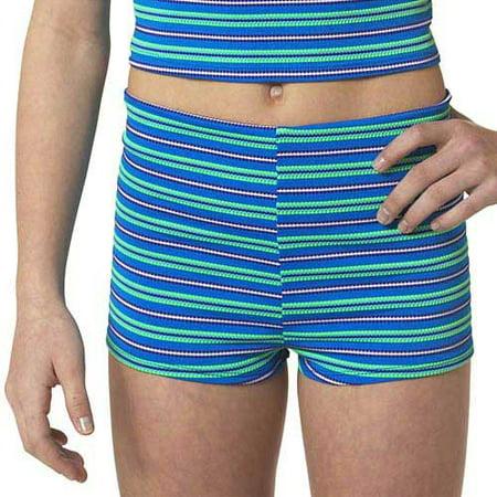 2a35a297b71 Catalina Girls' Boy-Style Swim Shorts - Walmart.com