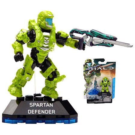Spartan Defender Halo Heroes Mega Bloks Figure 24 pcs