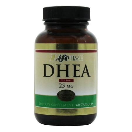 LifeTime Vitamins - DHEA 25 mg. - 60 Capsules DÉGAGEMENT PRICED