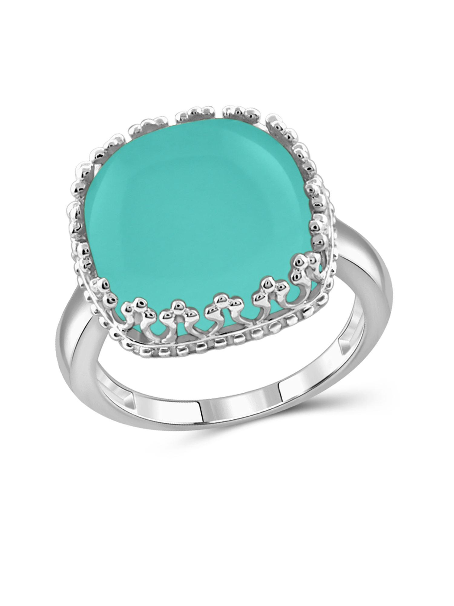 JewelersClub 10-3 4 Carat T.G.W. Chalcedony Sterling Silver Fashion Ring by JewelersClub
