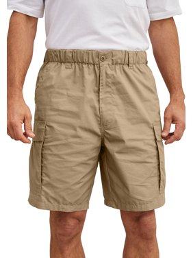 "KingSize Men's Big & Tall 8"" Moisture Wicking Cargo Shorts"