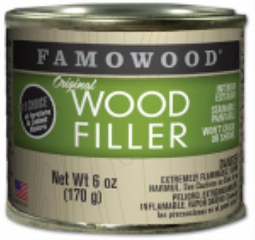 6 OZ Can Famowood Oak Professional Wood Filler