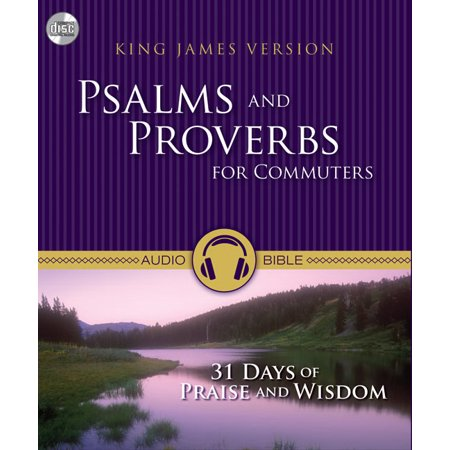 Audio CD-KJV Psalms And Proverbs For Commuters