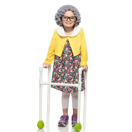 Girl's Old-Timer Granny Costume (Big Bad Wolf Granny Costume)
