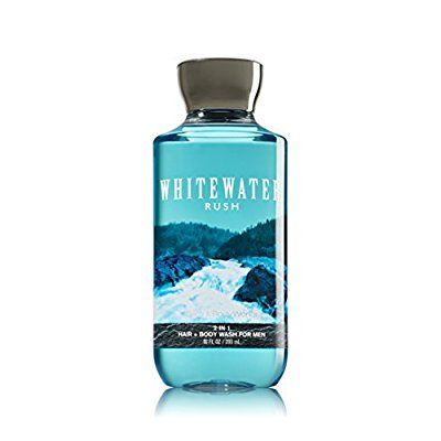 3 Bath Body Works - bath & body works, signature collection 2-in-1 hair & body wash, whitewater rush for men, 10 ounce