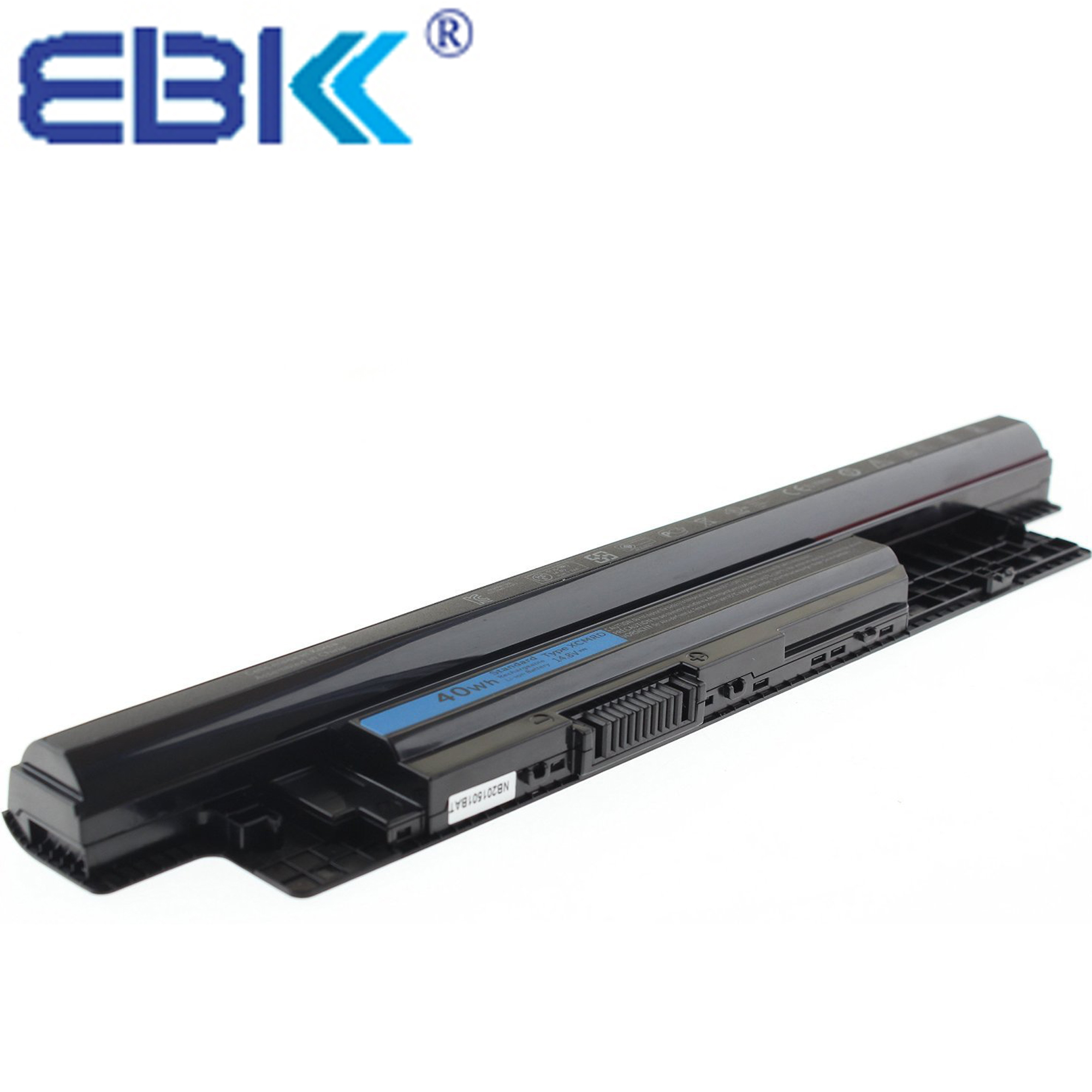 EBK 14.8V 40Wh 4cell Battery XCMRD For Dell Inspiron 14 15 17 3421 5421 3521 5521 3721 5721 MR90Y Laptop Battery