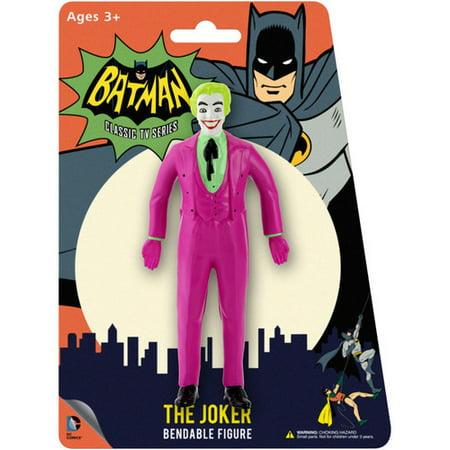 Joker Rhinestone - DC Comics The Joker 1966 Bendable Figure