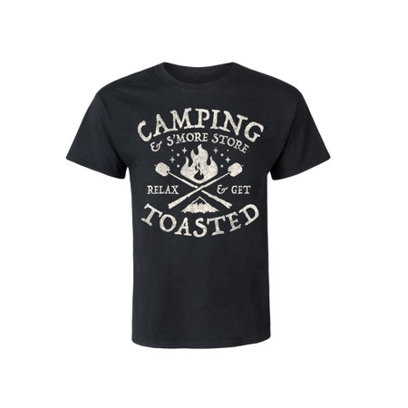 Camping And Smore Store - Adult Short Sleeve Tee (Store Adult)
