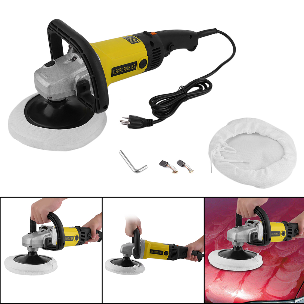 Portabel Electric 6 Variable Speed Car Polisher Buffer Waxer Sander Polishing Machine... by