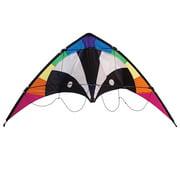 In the Breeze Skunk Stunt Kite - 2-Line Sport Kite - Includes Kite Line and Bag
