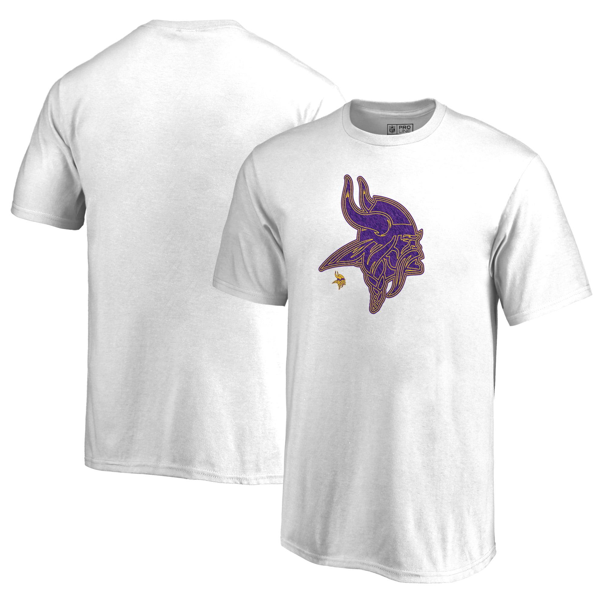 Minnesota Vikings NFL Pro Line by Fanatics Branded Youth Training Camp Hookup T-Shirt - White