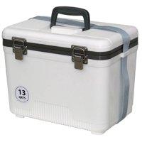 13 qt. Air-Tight Dry Box Cooler w O-Ring Seal (Tan)