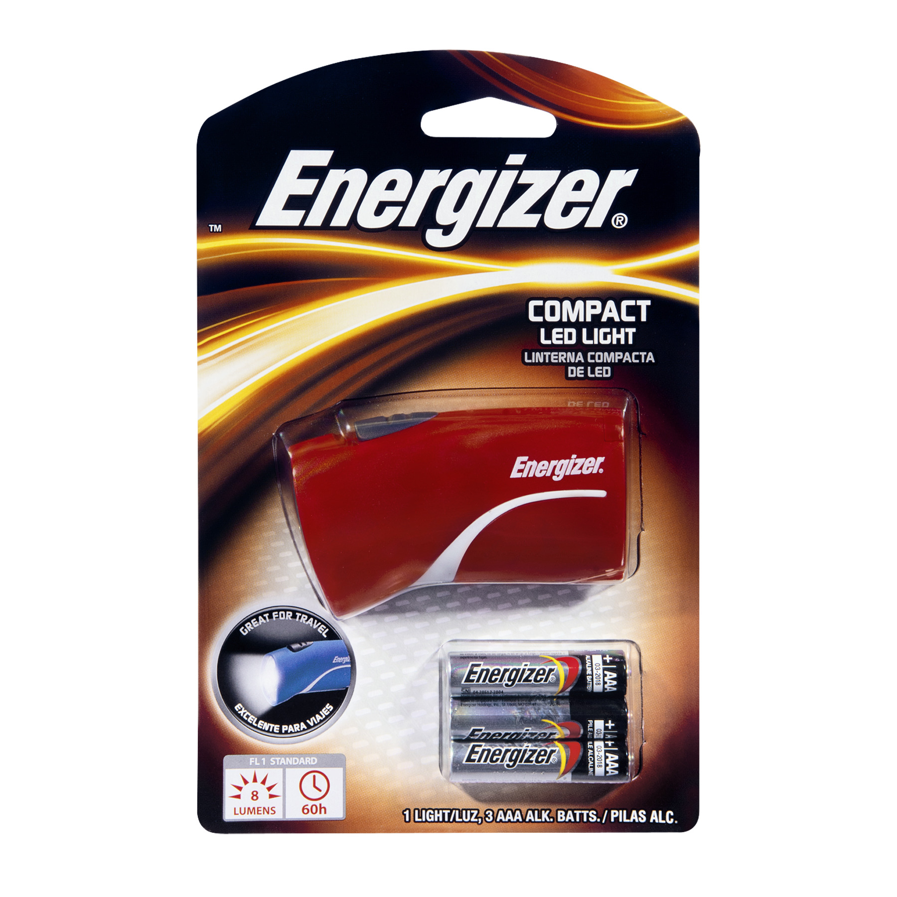 Energizer Compact Led Light, 1.0 CT