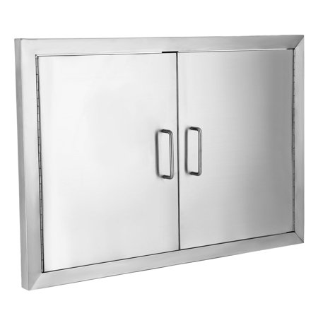 VEVOR BBQ Door 304 Commercial Grade Stainless Steel Doors 19