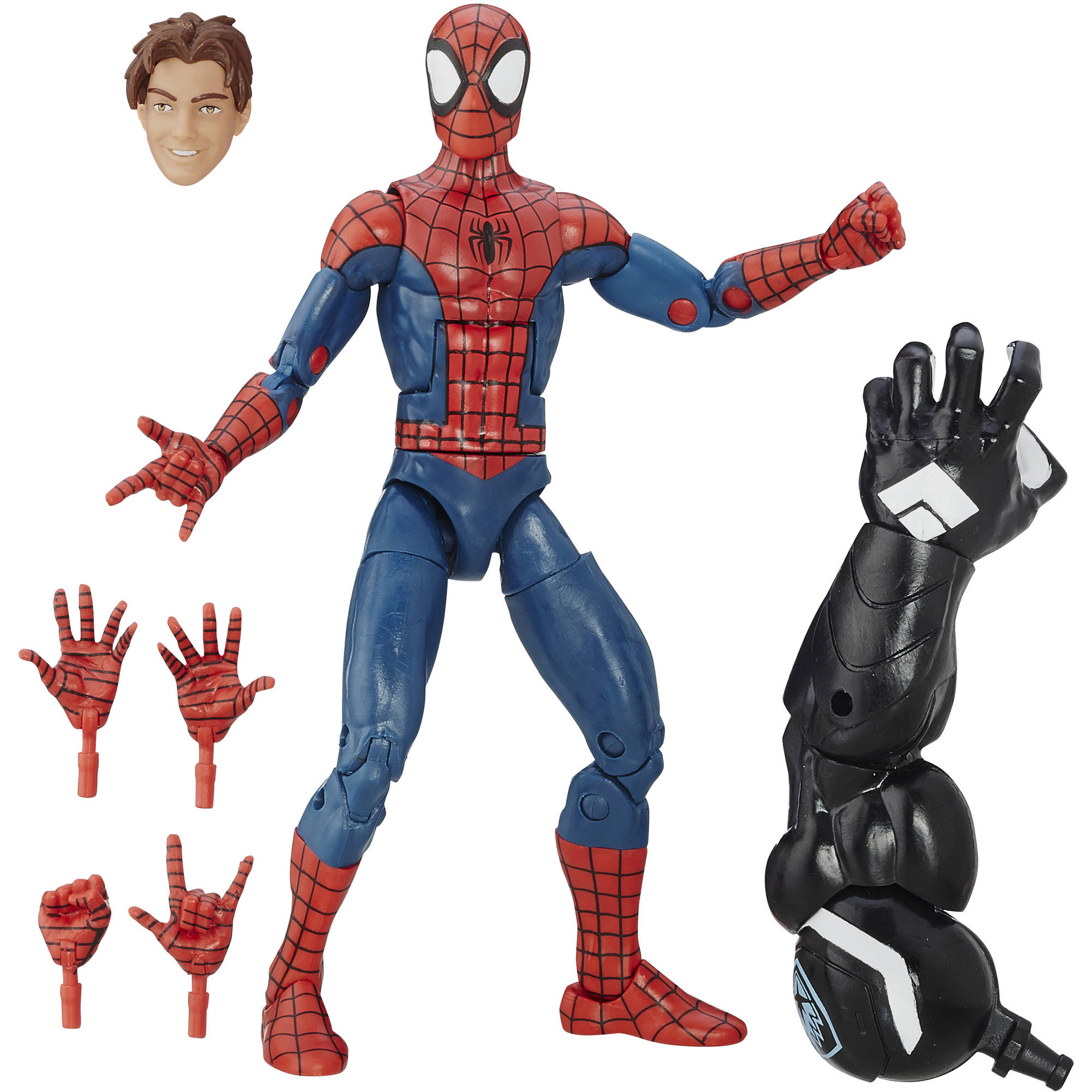 "Marvel Spider-Man 6"" Legends Series Ultimate Spider-Men: Peter Parker"