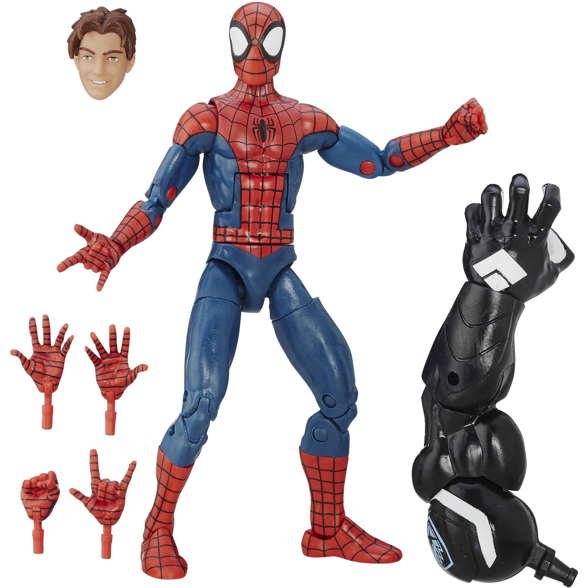 """Marvel Spider-Man 6"""" Legends Series Ultimate Spider-Men: Peter Parker"""