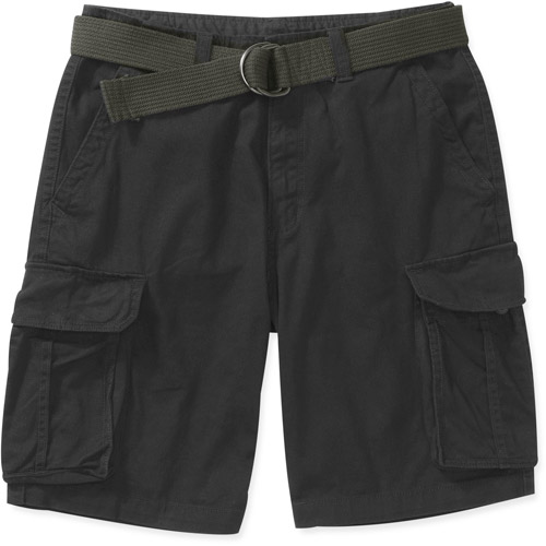 Faded Glory Men's Belted Cargo Short