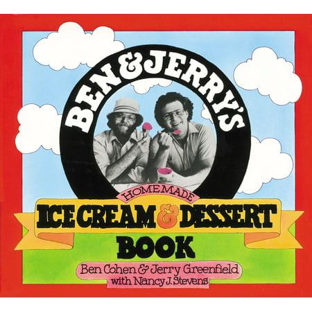 (Ben & Jerry's Homemade Ice Cream & Dessert Book - Paperback)