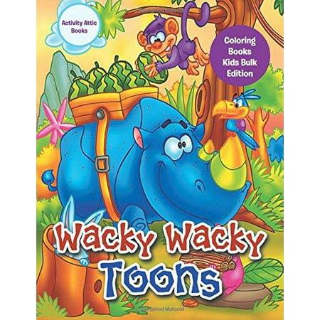 Wacky Wacky Toons Coloring Books Kids Bulk Edition - Walmart.com