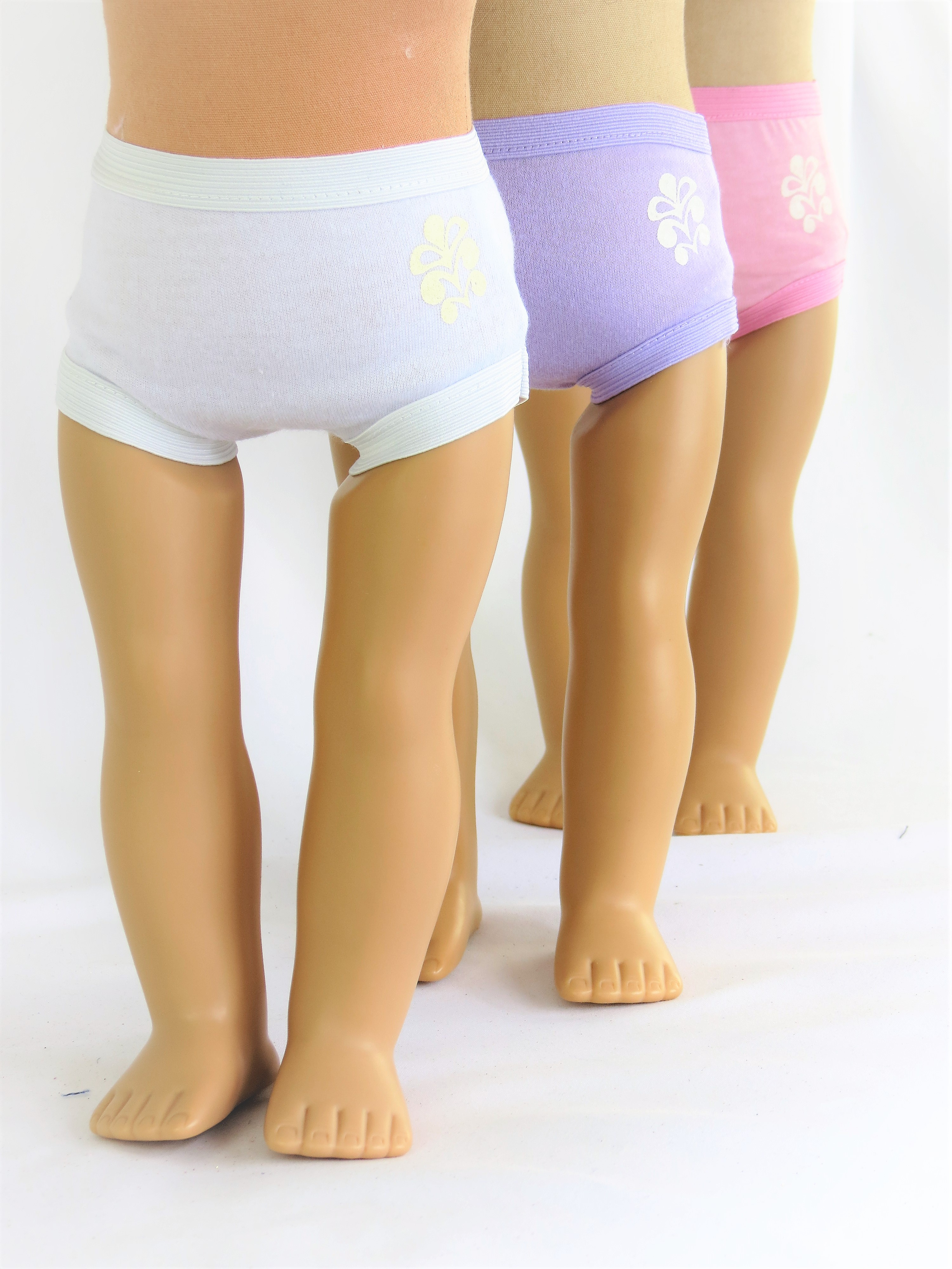 """Assorted Panties Set- 3 Pack