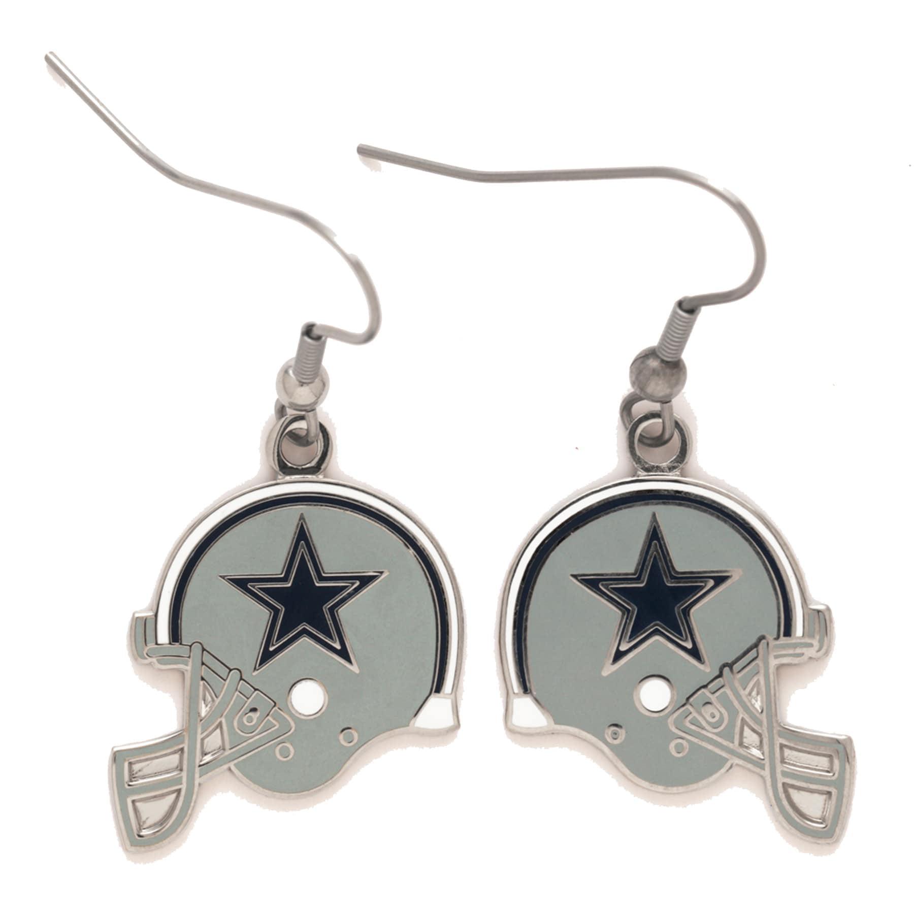 Dallas Cowboys Helmet Earrings