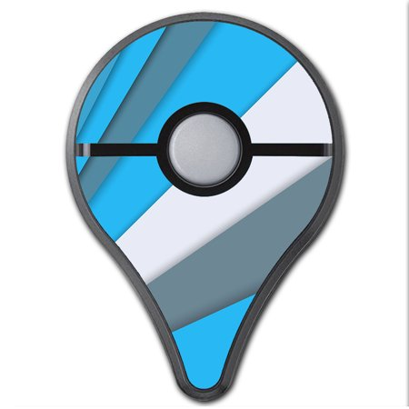 Skins Decals For Pokemon Go Plus (2-Pack) Cover / Blue Abstract - Pokemon Pattern