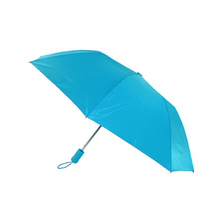 Open Folding Umbrella - Size one size Compact Auto Open Folding Umbrella