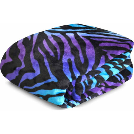 Your Zone Printed Plush Blanket Collection Walmart Com
